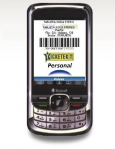 Mobile Ticketing: Ticketek Personal Fest